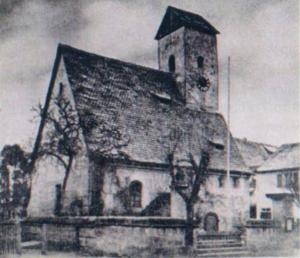 Außenansicht der alten Marienkirche.